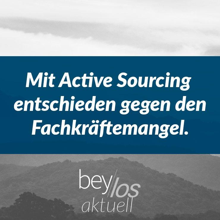Mit Active Sourcing entschieden gegen den Fachkräftemangel