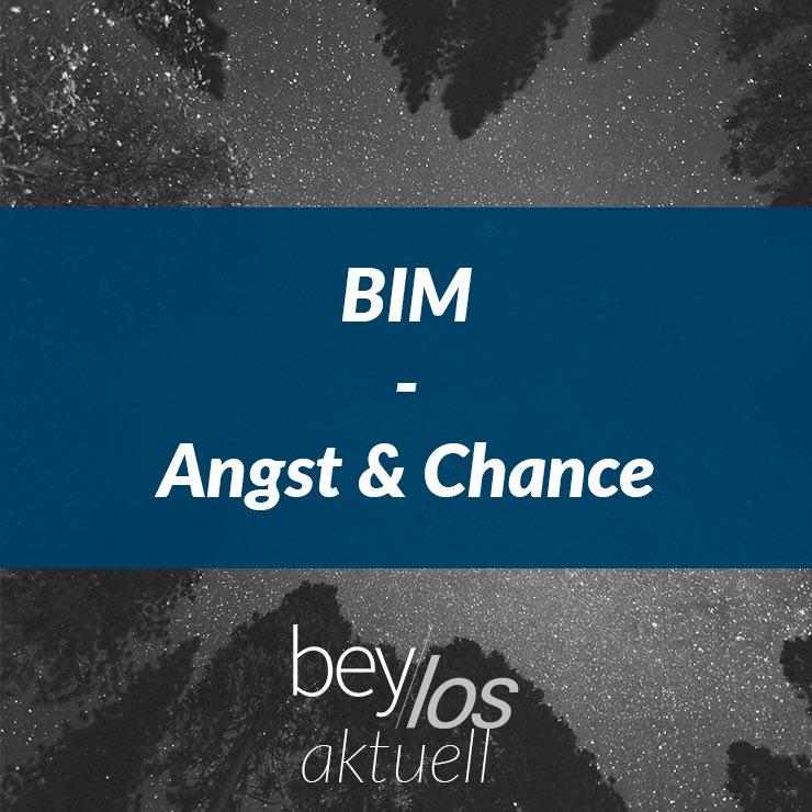BIM – Angst und Chance