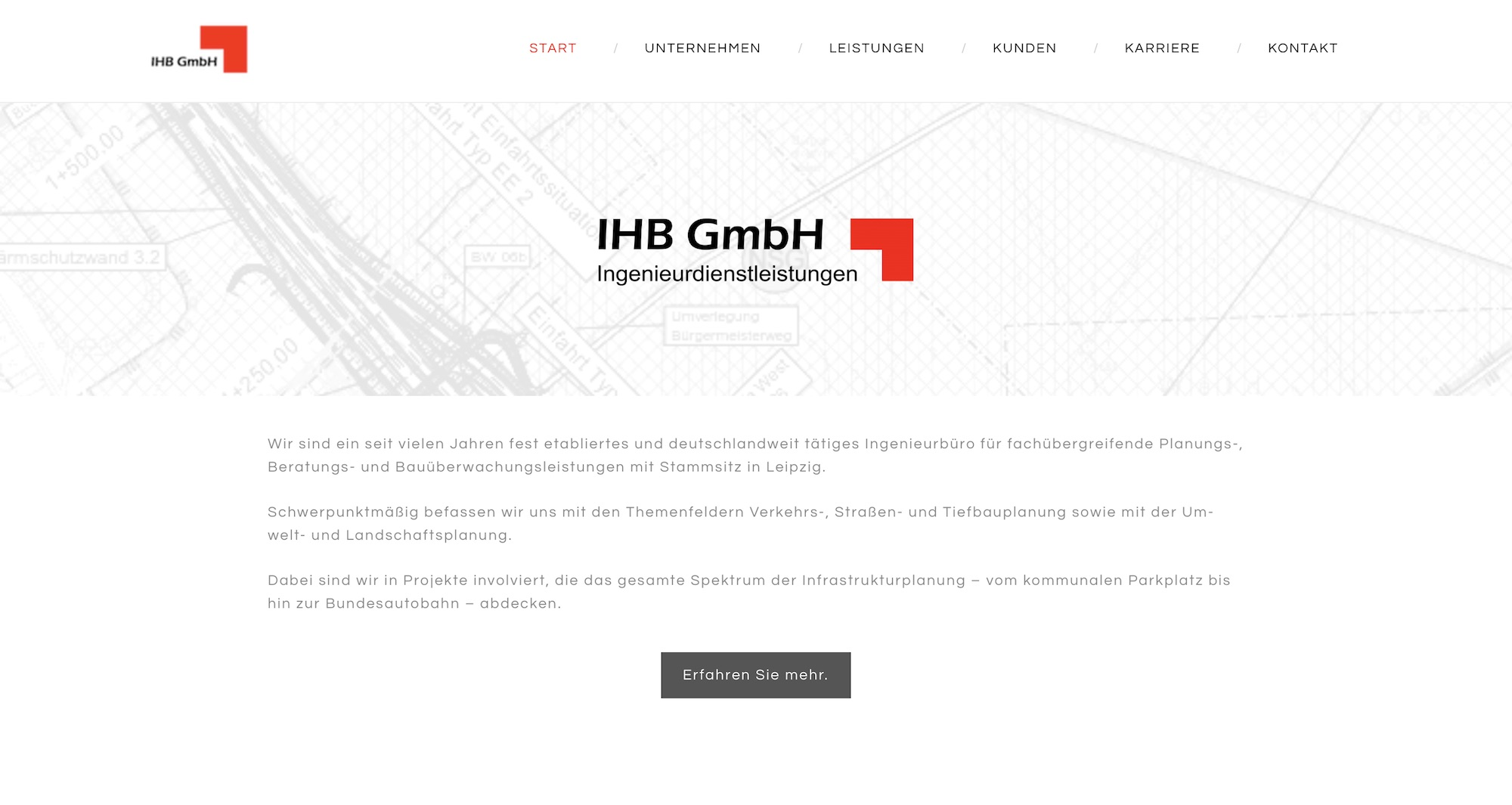 IHB GmbH Website