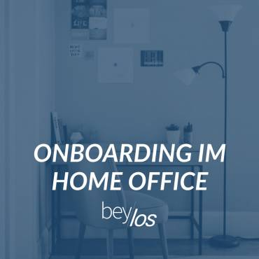 Onboarding im Home Office