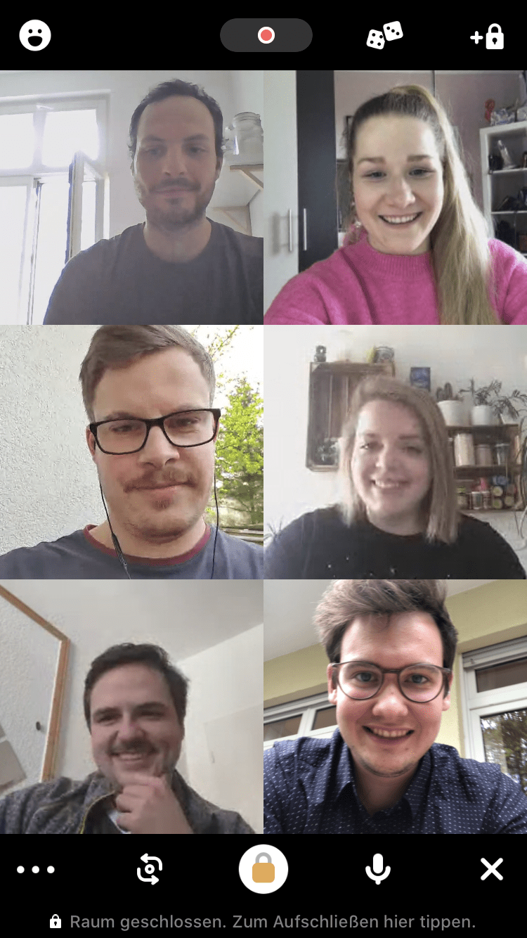 beylos - Houseparty-Screenshot