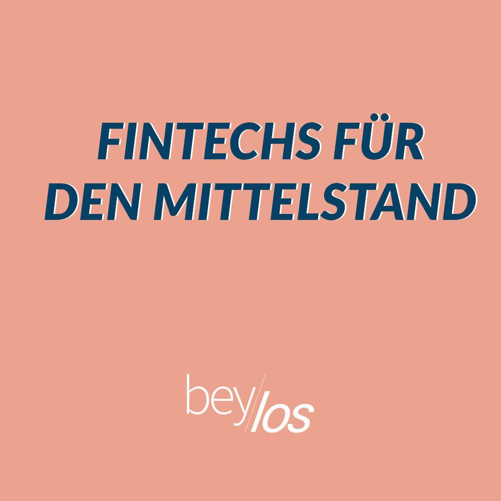 FinTechs für den Mittelstand – Digitale Chancen