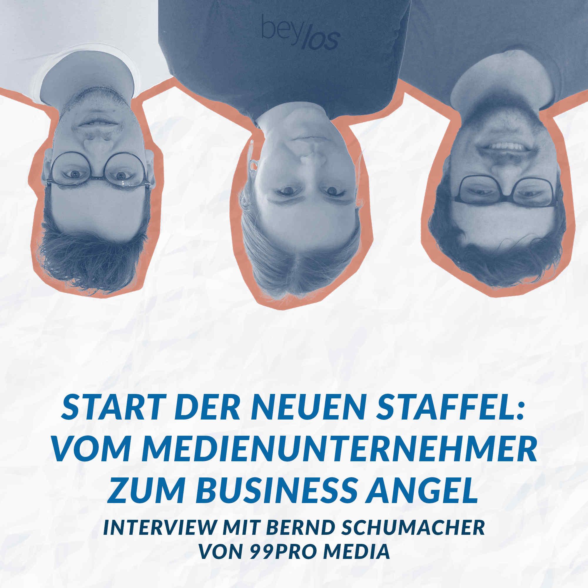 Interview mit Bernd Schumacher von 99pro media